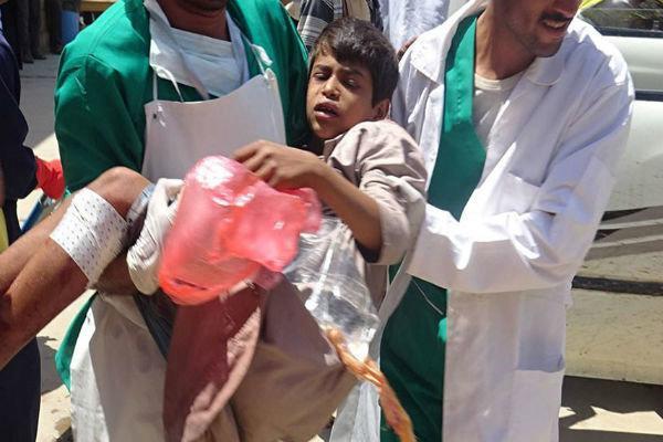 جنگنده های سعودی صعده یمن را بمباران کردند، زخمی شدن 3 غیرنظامی