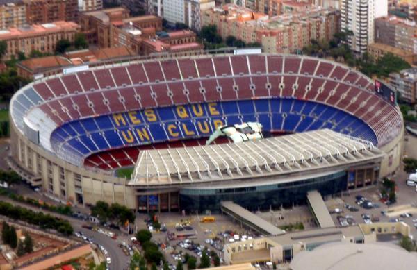 اتفاق جالب برای ورزشگاه بارسلونا
